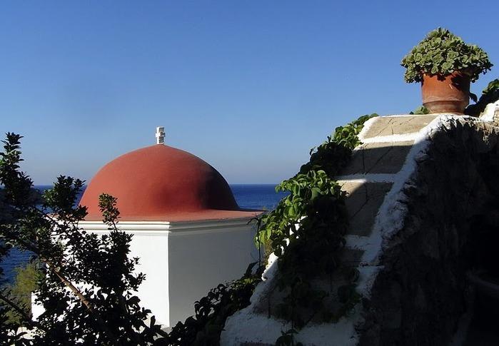 Остров Карпатос - высокие горы, традиционные поселки, пляжи на юге... 78381
