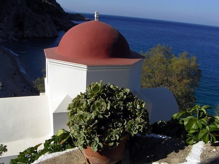 Остров Карпатос - высокие горы, традиционные поселки, пляжи на юге... 86487