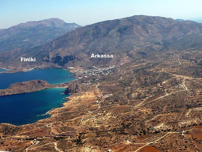 Остров Карпатос - высокие горы, традиционные поселки, пляжи на юге... 23233