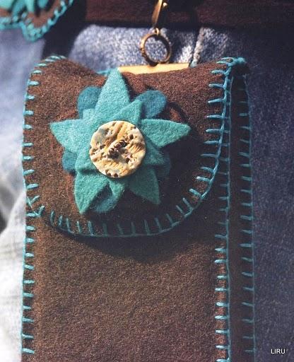 украшения из пуговиц