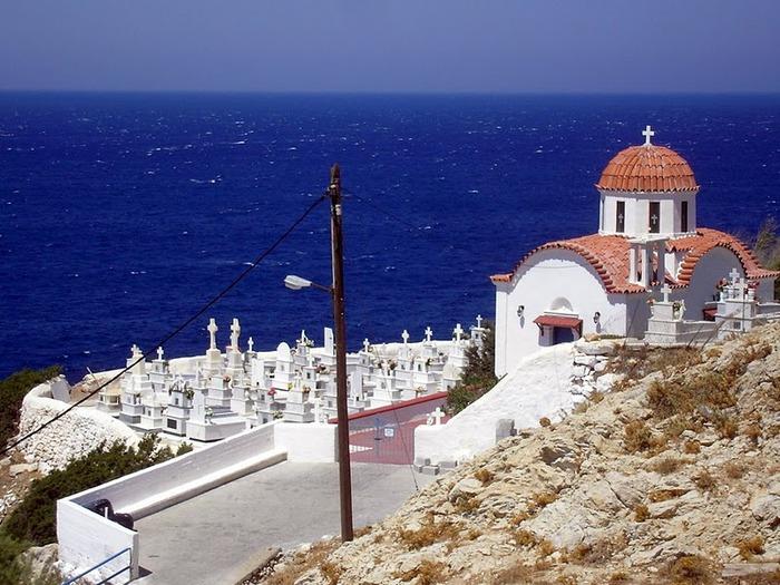 Остров Карпатос - высокие горы, традиционные поселки, пляжи на юге... 44097