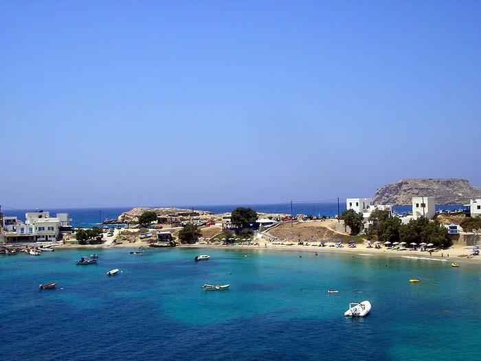 Остров Карпатос - высокие горы, традиционные поселки, пляжи на юге... 11986