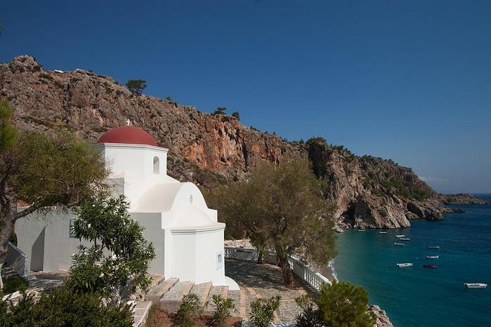 Остров Карпатос - высокие горы, традиционные поселки, пляжи на юге... 64080