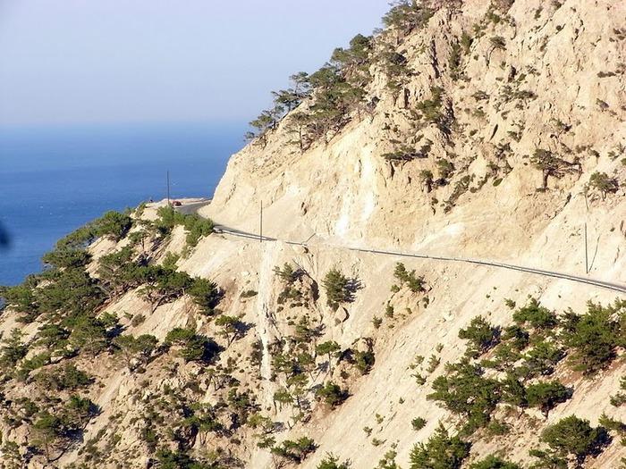 Остров Карпатос - высокие горы, традиционные поселки, пляжи на юге... 60205