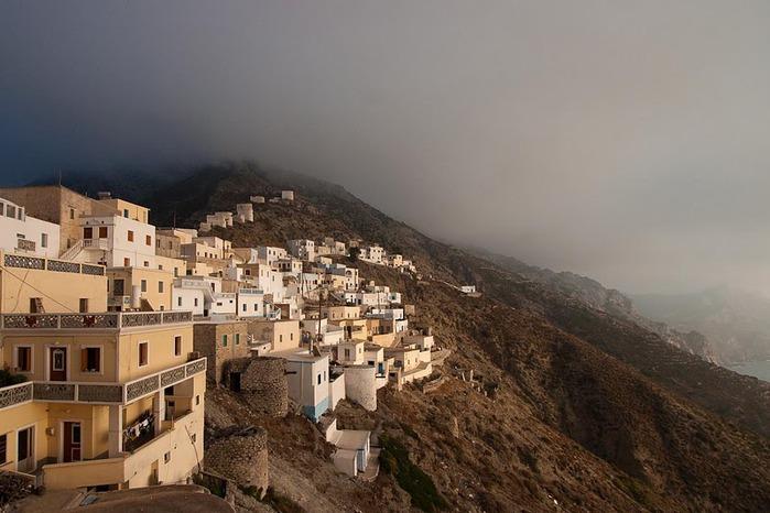 Остров Карпатос - высокие горы, традиционные поселки, пляжи на юге... 20252