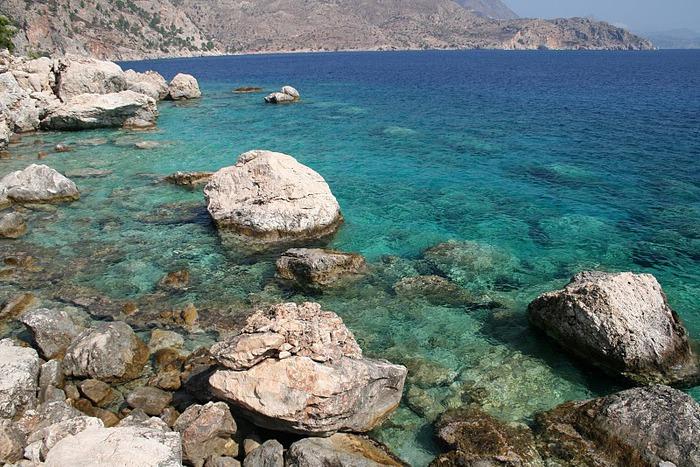 Остров Карпатос - высокие горы, традиционные поселки, пляжи на юге... 41221