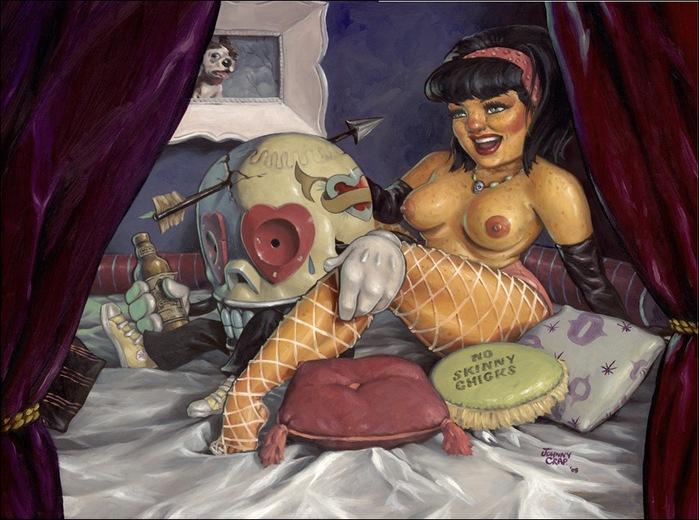 Чудные монстры от Jonathan Bergeron 2
