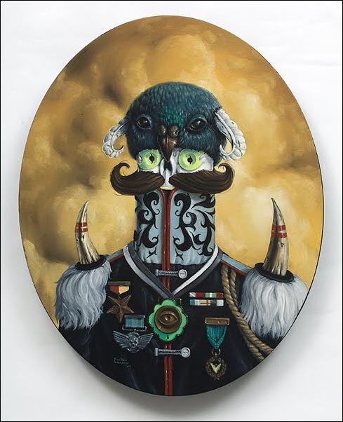 Чудные монстры от Jonathan Bergeron 36