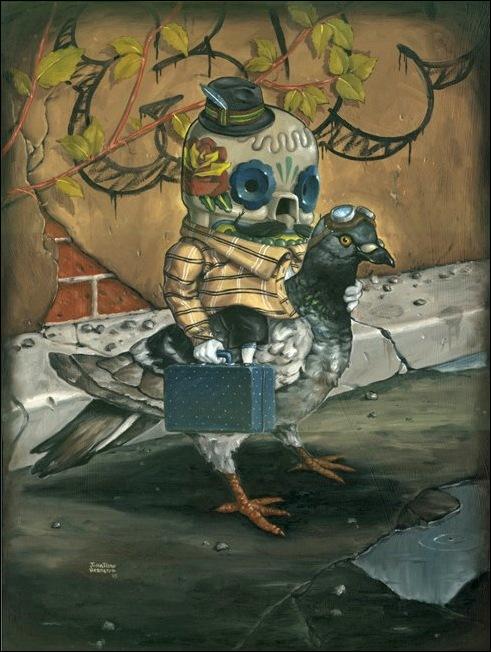 Чудные монстры от Jonathan Bergeron 38