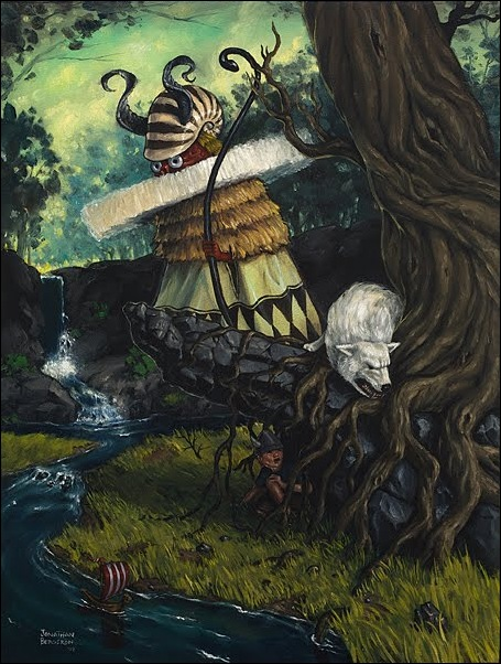 Чудные монстры от Jonathan Bergeron 39
