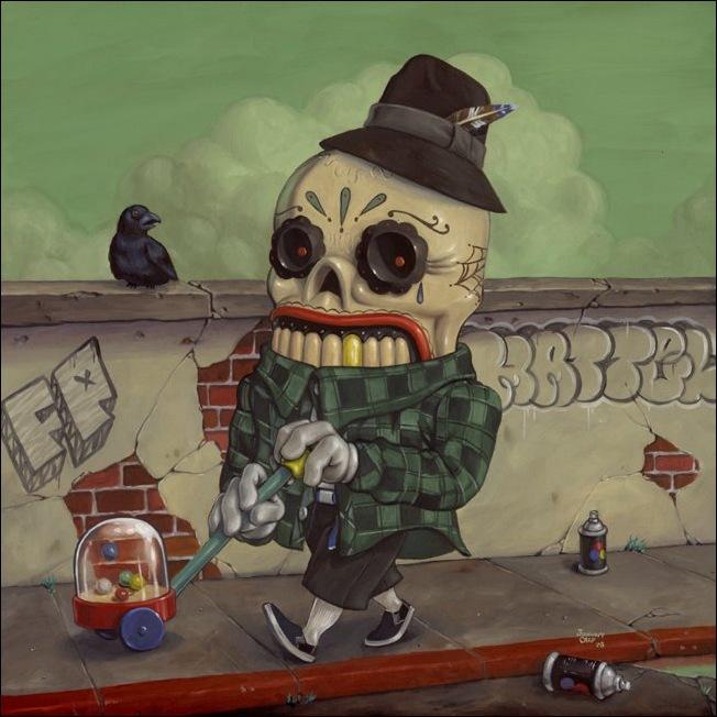 Чудные монстры от Jonathan Bergeron 41