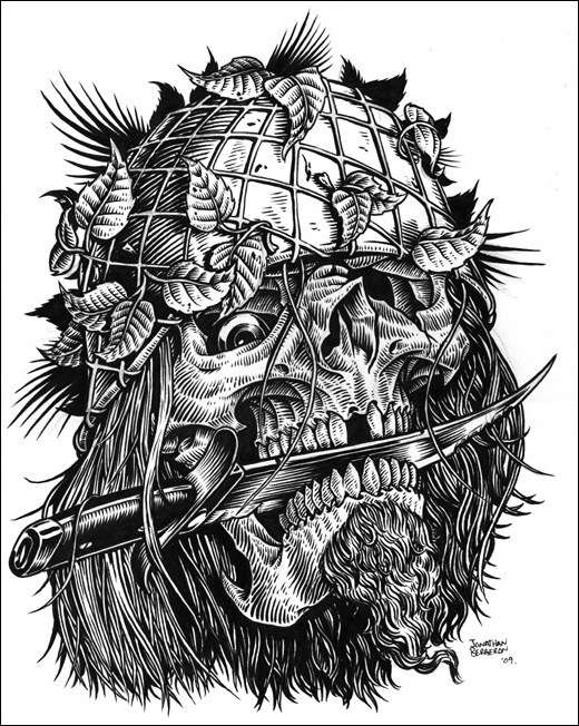 Чудные монстры от Jonathan Bergeron 50