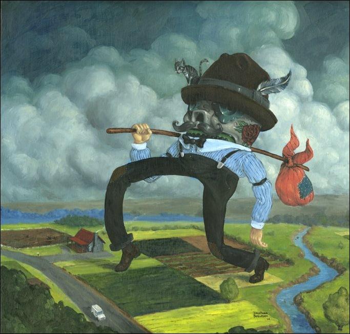 Чудные монстры от Jonathan Bergeron 52