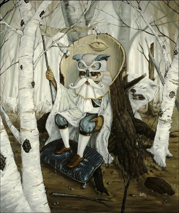 Чудные монстры от Jonathan Bergeron 56