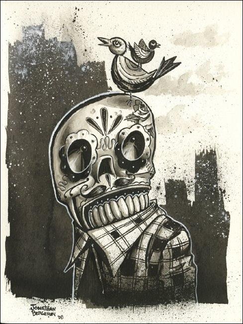 Чудные монстры от Jonathan Bergeron 7