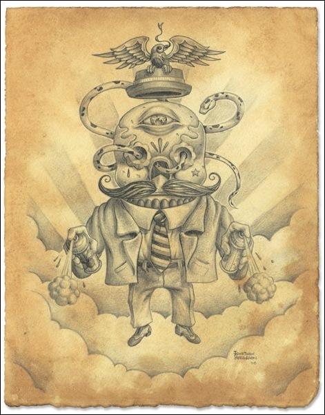Чудные монстры от Jonathan Bergeron 9