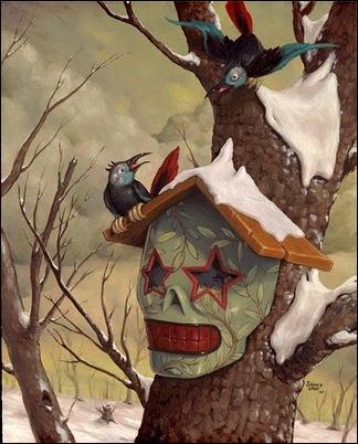 Чудные монстры от Jonathan Bergeron 11