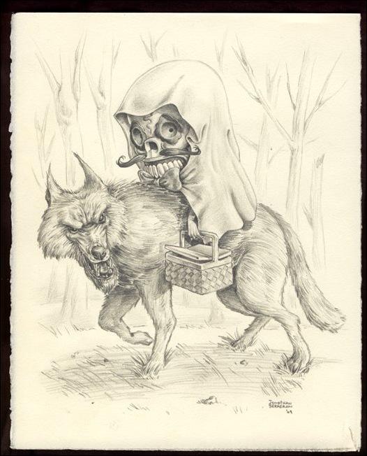 Чудные монстры от Jonathan Bergeron 15