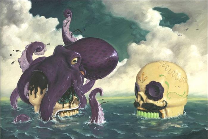 Чудные монстры от Jonathan Bergeron 16