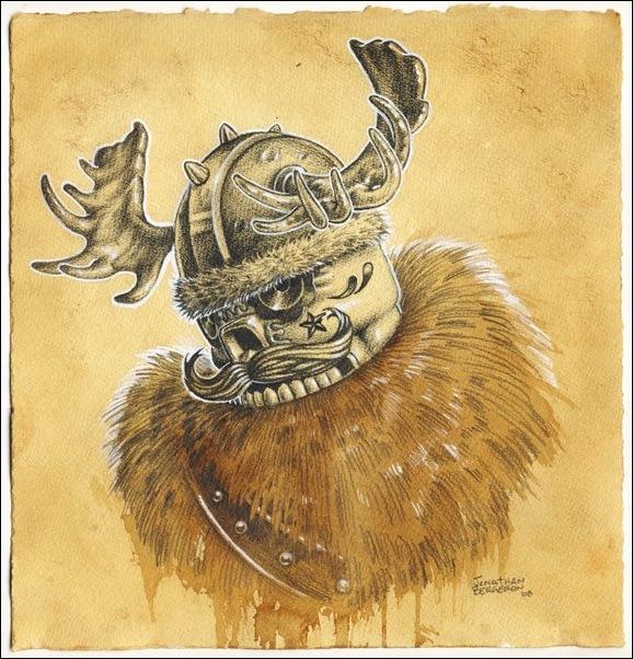 Чудные монстры от Jonathan Bergeron 18