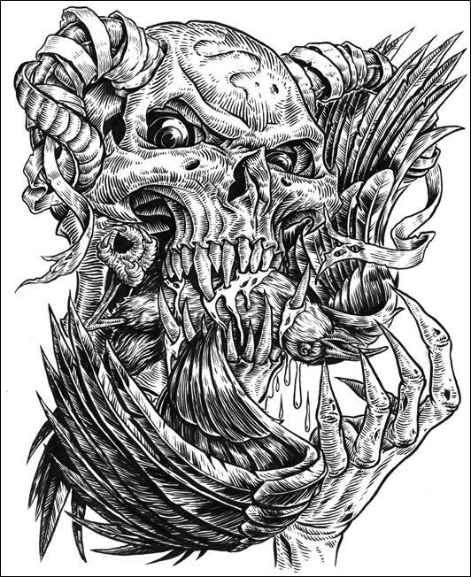 Чудные монстры от Jonathan Bergeron 20