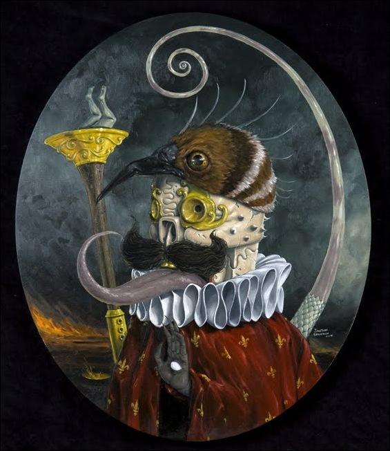 Чудные монстры от Jonathan Bergeron 21