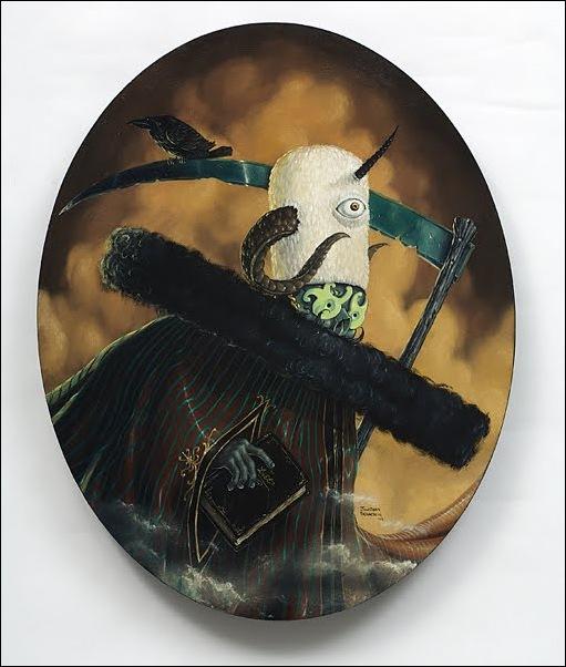 Чудные монстры от Jonathan Bergeron 23