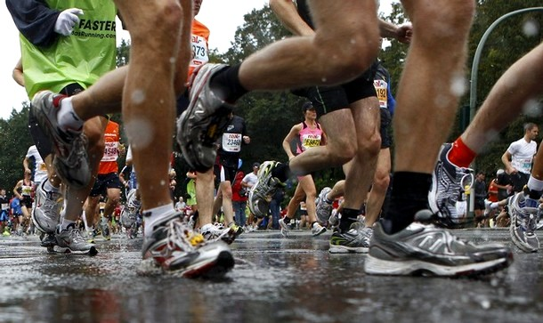 37-ой берлинский марафон в Берлине, 26 сентября 2010 года.