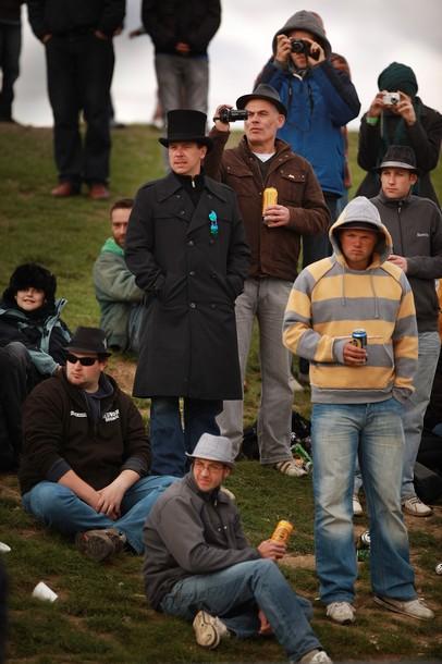 National Drag Racing Championships в Веллингборо, Англия, 25 сентября 2010 года.