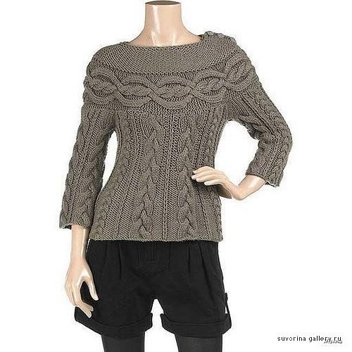 Пуловер Шамони