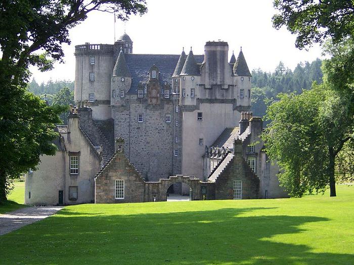 Замок Фрейзер (Castle Fraser) 35385
