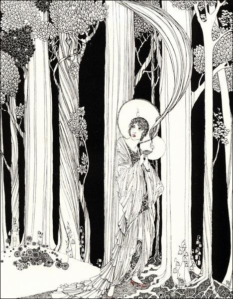 Картинки иллюстрации к Рубаи Омара Хайяма английского иллюстратора Рональда Бэлфура 13