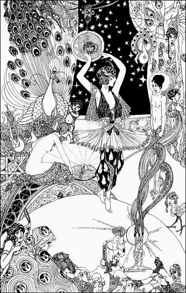 Картинки иллюстрации к Рубаи Омара Хайяма английского иллюстратора Рональда Бэлфура 19