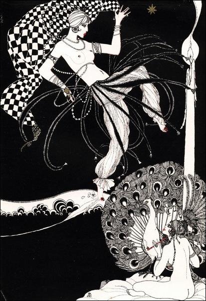 Картинки иллюстрации к Рубаи Омара Хайяма английского иллюстратора Рональда Бэлфура 23