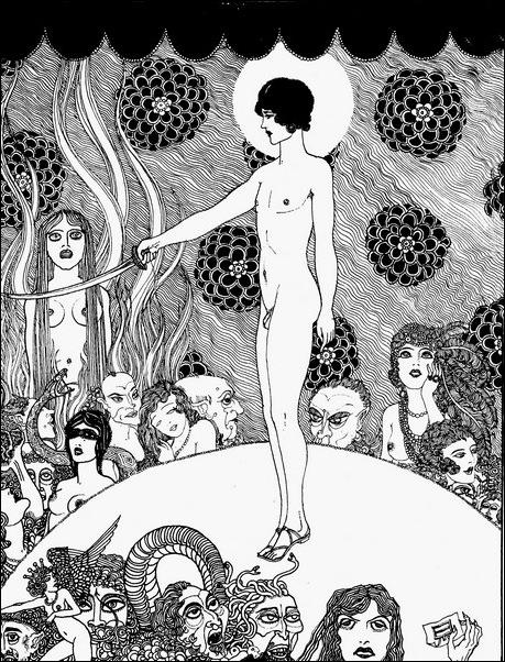 Картинки иллюстрации к Рубаи Омара Хайяма английского иллюстратора Рональда Бэлфура 25