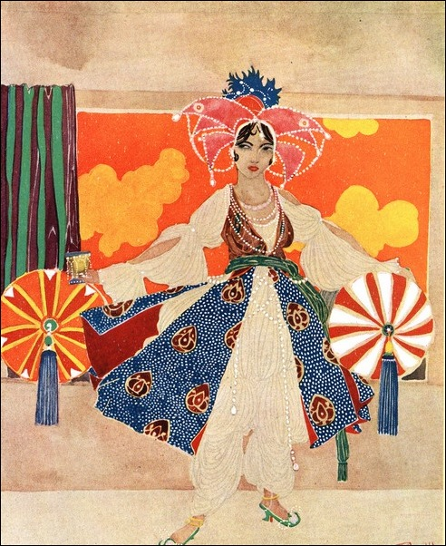 Картинки иллюстрации к Рубаи Омара Хайяма английского иллюстратора Рональда Бэлфура 30