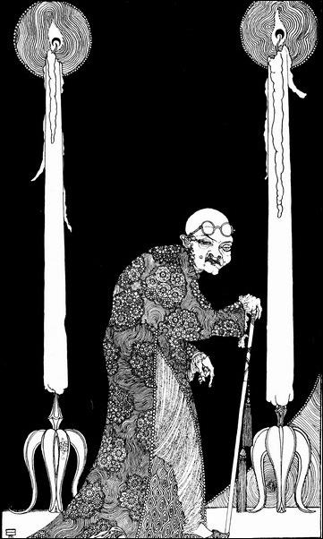 Картинки иллюстрации к Рубаи Омара Хайяма английского иллюстратора Рональда Бэлфура 34