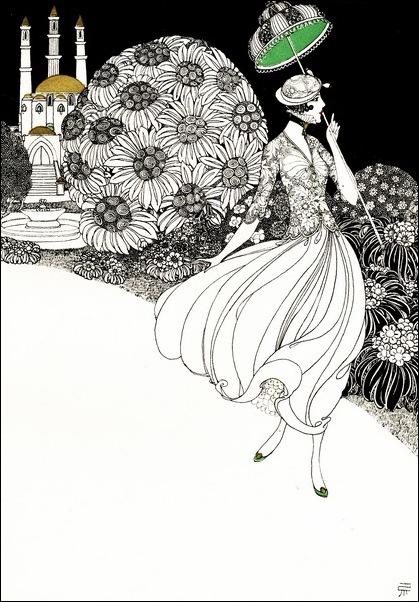 Картинки иллюстрации к Рубаи Омара Хайяма английского иллюстратора Рональда Бэлфура 38