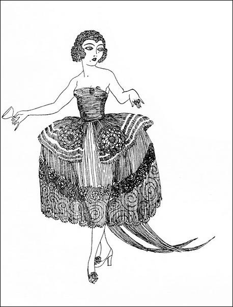 Картинки иллюстрации к Рубаи Омара Хайяма английского иллюстратора Рональда Бэлфура(подтекстные рисунки) 2