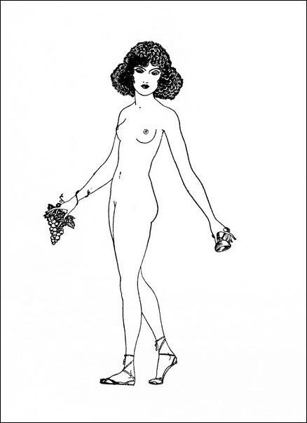Картинки иллюстрации к Рубаи Омара Хайяма английского иллюстратора Рональда Бэлфура(подтекстные рисунки) 4