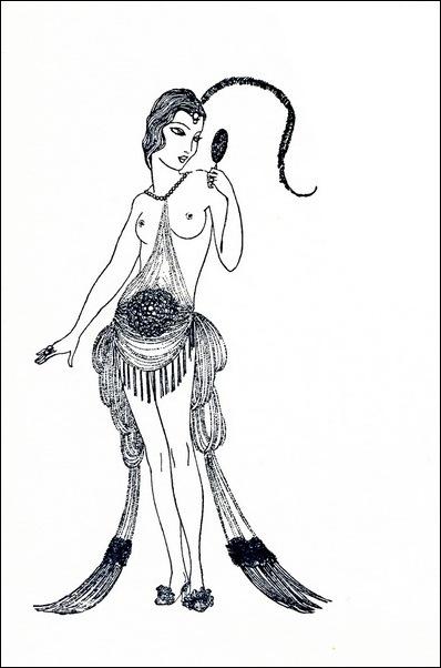 Картинки иллюстрации к Рубаи Омара Хайяма английского иллюстратора Рональда Бэлфура(подтекстные рисунки) 6