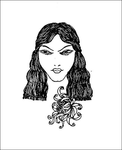 Картинки иллюстрации к Рубаи Омара Хайяма английского иллюстратора Рональда Бэлфура(подтекстные рисунки)  17