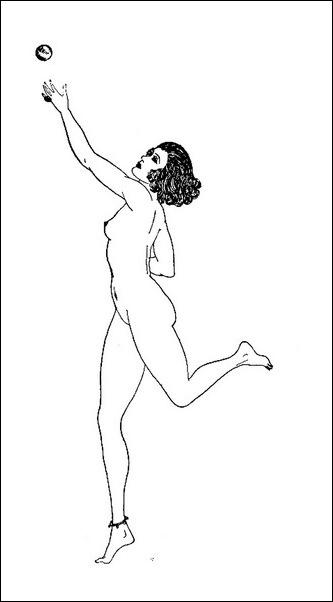 Картинки иллюстрации к Рубаи Омара Хайяма английского иллюстратора Рональда Бэлфура(подтекстные рисунки) 19