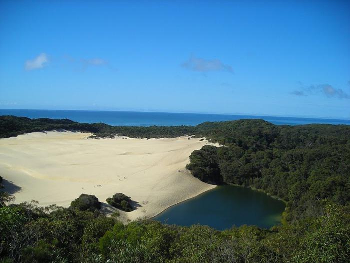 Oстров Фрейзер — объект всемирного достояния человечества и самый большой песчаный остров в мире. 34388