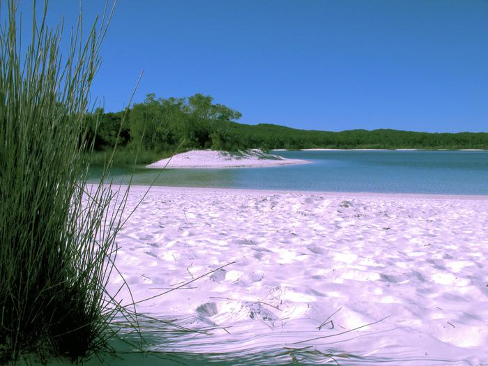 Oстров Фрейзер — объект всемирного достояния человечества и самый большой песчаный остров в мире. 58824
