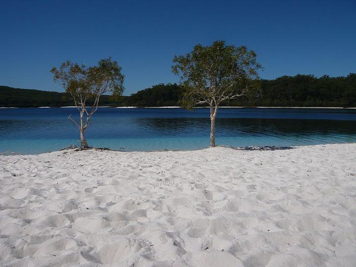 Oстров Фрейзер — объект всемирного достояния человечества и самый большой песчаный остров в мире. 72693