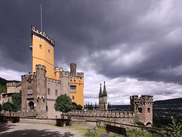 Рейнская жемчужина -Замок Штольценфельс 81286