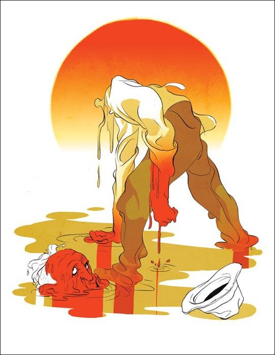 Израильские иллюстраторы Томер и Асаф Ханука (Tomer Hanuka, Asaf Hanuka) heatBig72