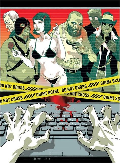 Израильские иллюстраторы Томер и Асаф Ханука (Tomer Hanuka, Asaf Hanuka) sexcrimeblog