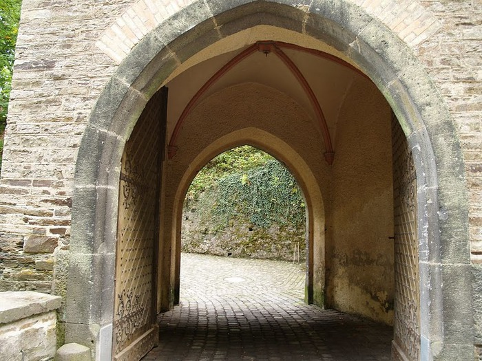 Рейнская жемчужина -Замок Штольценфельс 10955